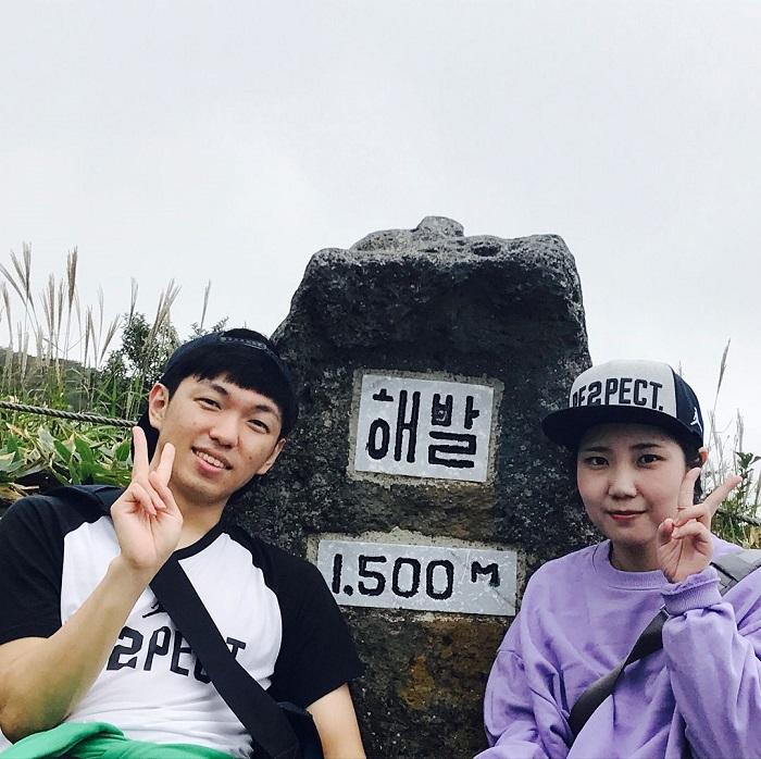 núi Hallasan Hàn Quốc - đường mòn Eorimok