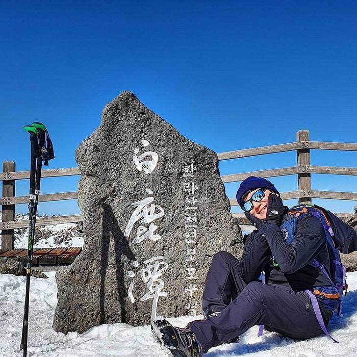 núi Hallasan Hàn Quốc - địa điểm check in đẹp