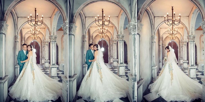 pro view studio - beautiful wedding photography spot in Hai Phong that makes couples fall in love