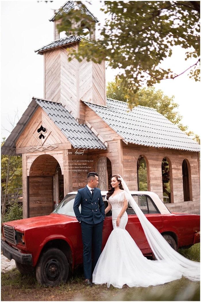 Wonderland film studio - beautiful wedding photography spot in Hai Phong makes couples fall in love