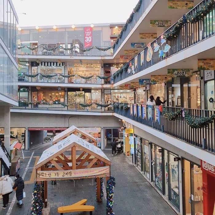 phố cổ Insadong Seoul - check in khu Ssamziegil