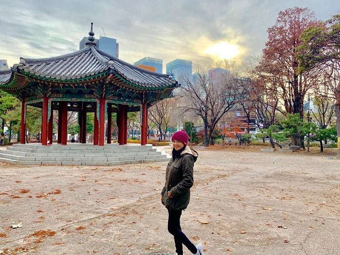 phố cổ Insadong Seoul - check in công viên Tapgol