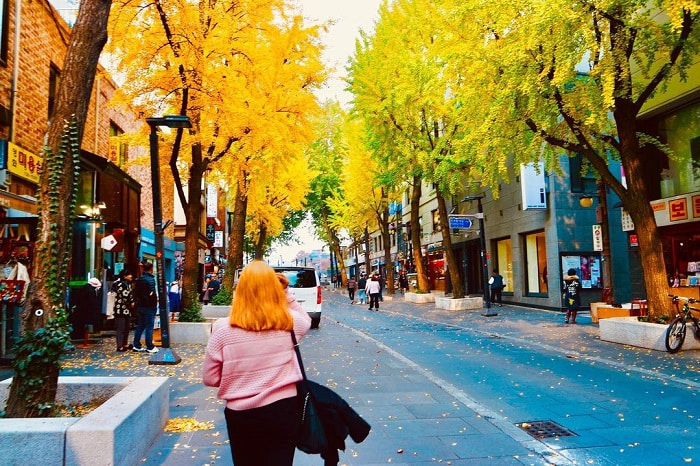 phố cổ Insadong Seoul - phương tiện