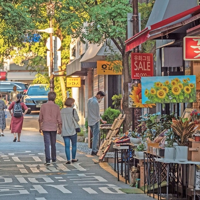 phố cổ Insadong Seoul - địa điểm tham quan nổi tiếng