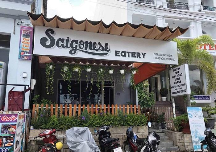 Delicious eateries near Bai Dai Phu Quoc- Saigonese Eatery