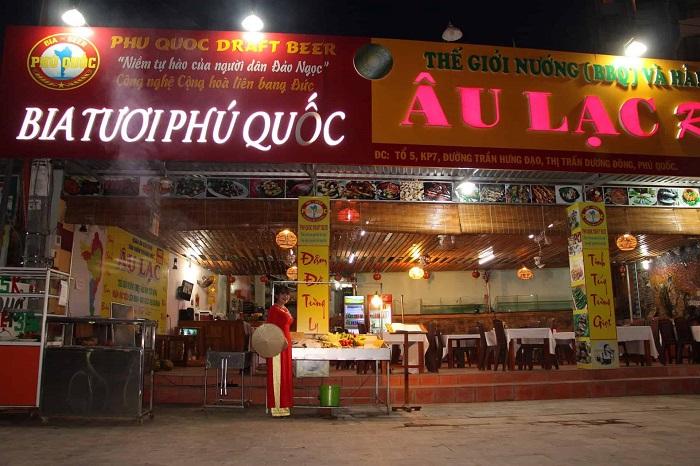 Delicious eateries near Bai Dai Phu Quoc-Au Lac Restaurant