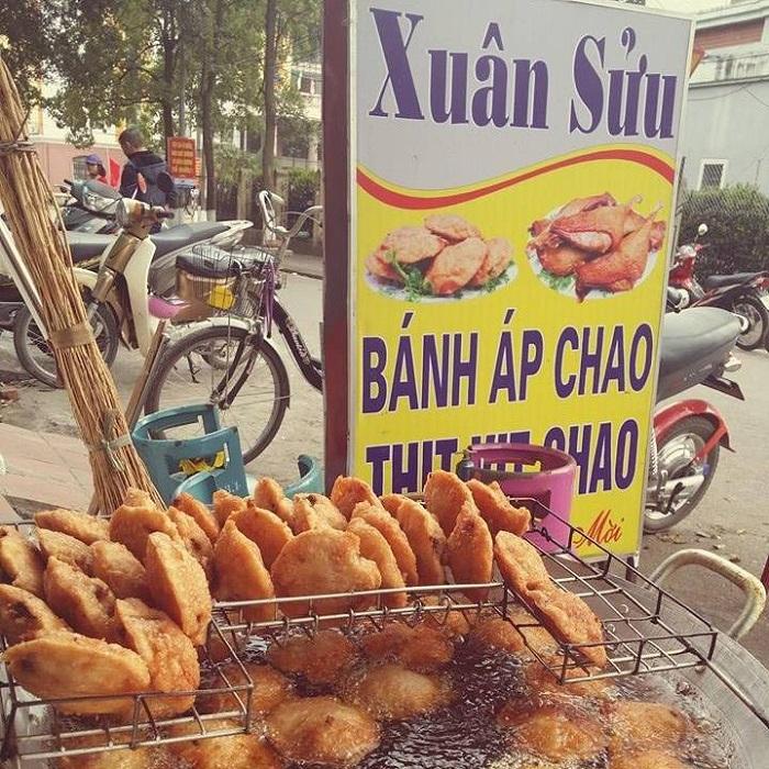 Quán ăn ngon Lạng Sơn - Bánh áp chao Xuân Sửu