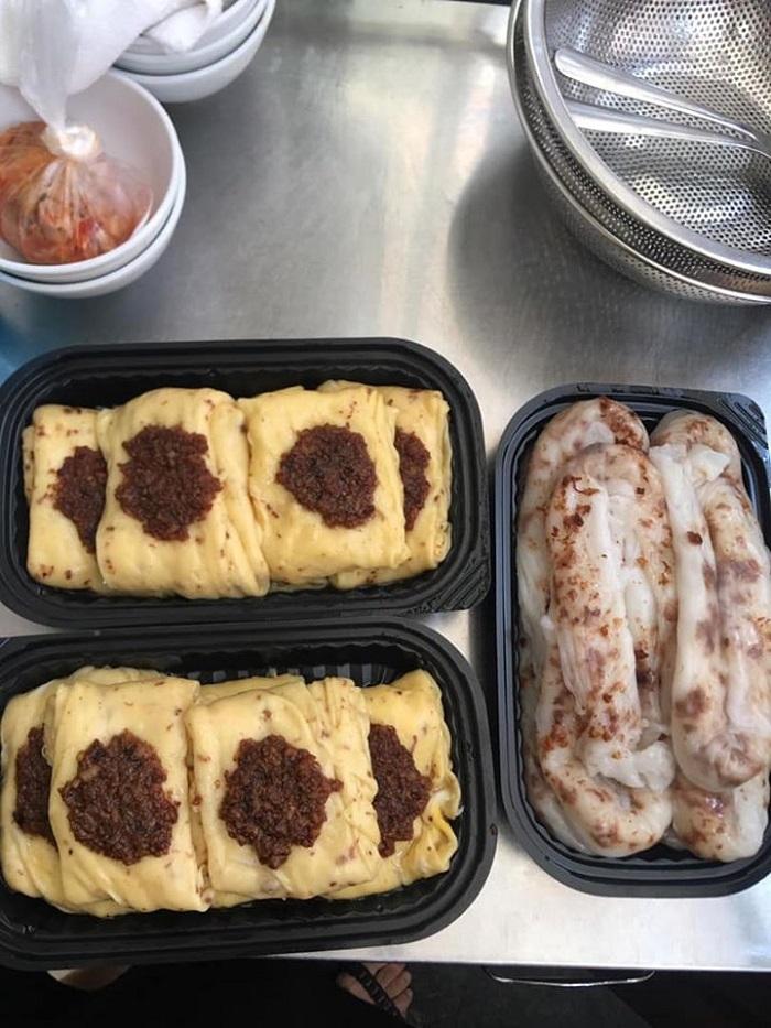Những quán ăn ngon Lạng Sơn - bánh cuốn bà Loan
