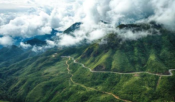 săn mây - hoạt động thú vị tại Núi Cà Đam