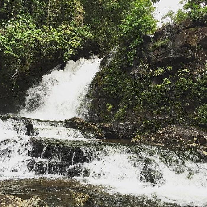 thác 3 tầng - thắng cảnh đẹp trên Núi Cà Đam