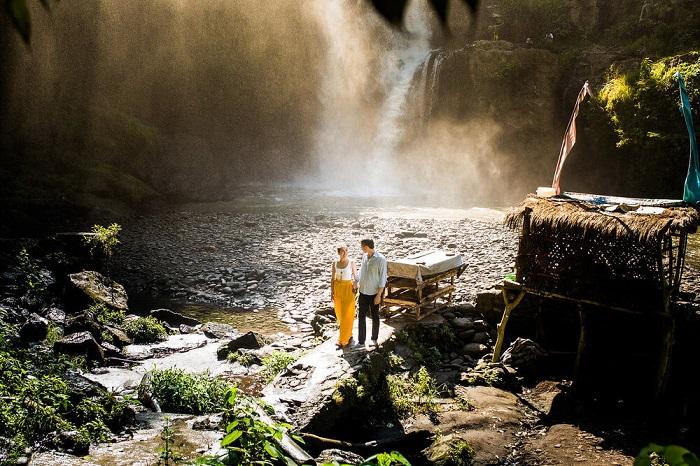 Thác Tegenungan có rất nhiều góc chụp đẹp - Những nơi đẹp nhất để chụp ảnh ở Bali