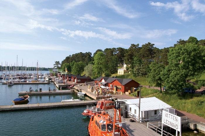 Mariehamn - một trong những thị trấn đẹp ở Phần Lan