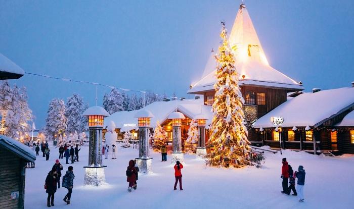 Rovaniemi - một trong những thị trấn đẹp ở Phần Lan