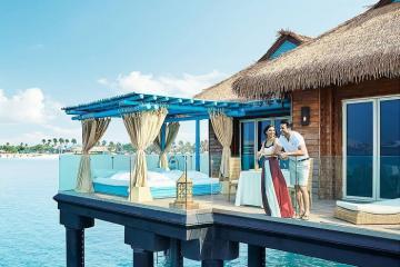Check in đảo Banana Qatar ngắm vịnh Ba Tư xanh ngát đẹp tựa thiên đường