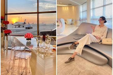 Nhà ga Vip ở Dubai dành cho giới siêu giàu chất đến từng ngóc ngách