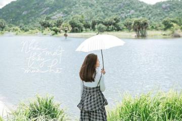 Tới hồ Ô Thum An Giang check in và ăn gà đốt trứ danh