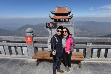 Đầu năm chiêm bái chùa Kim Sơn Bảo Thắng Sapa