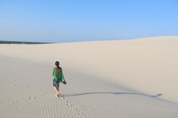 Du lịch Quảng Trị chiêm ngưỡng đồi cát vàng Nhĩ Hạ đẹp mê hoặc lòng người
