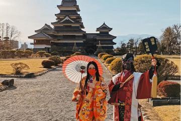 Lâu đài Matsumoto - 'kho báu quốc gia' đẹp bậc nhất Nhật Bản