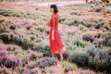 Muôn góc sống ảo tại 'chốn thiên đường' vườn hoa Bốn Mùa ở Đồng Nai