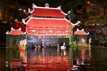 Khám phá nhà hát múa rối nước Đảo Ngọc Phú Quốc