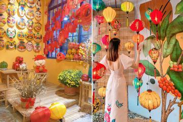 Lưu gấp những quán cafe trang trí Tết ở Sài Gòn check-in sống ảo 'triệu like' (P2)