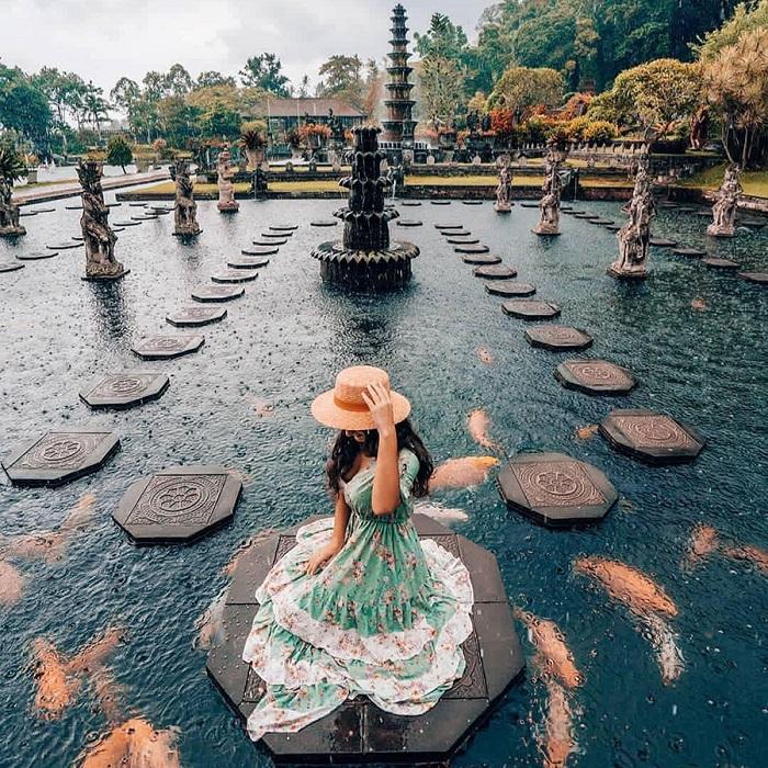 Cảnh đẹp tại Cung điện nước Tirta Gangga - Những nơi đẹp nhất để chụp ảnh ở Bali