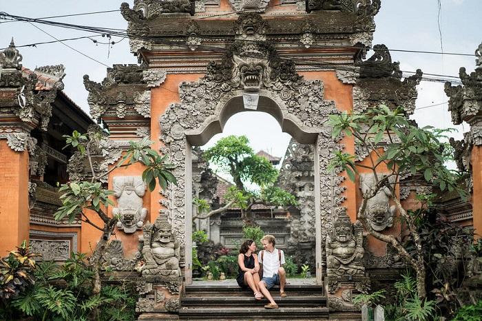 Một ngôi đền ở Ubud - Những nơi đẹp nhất để chụp ảnh ở Bali