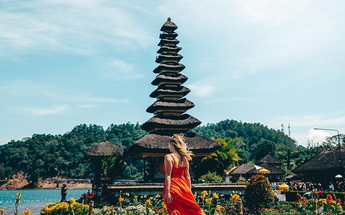 Chụp ảnh tại Pura Ulun Danu Beratan - Những nơi đẹp nhất để chụp ảnh ở Bali