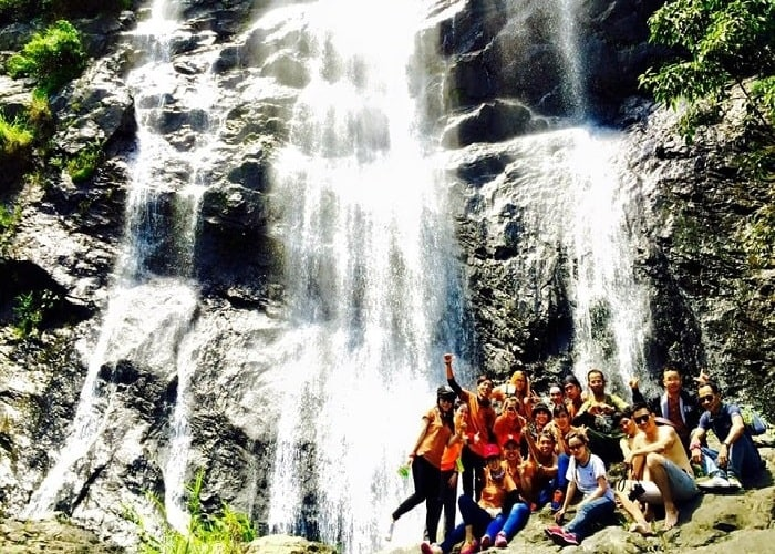 The majestic and attractive beauty of Chapơ waterfall