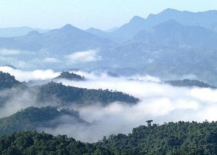 mây vờn - nét quyến rũ của Núi Cà Đam