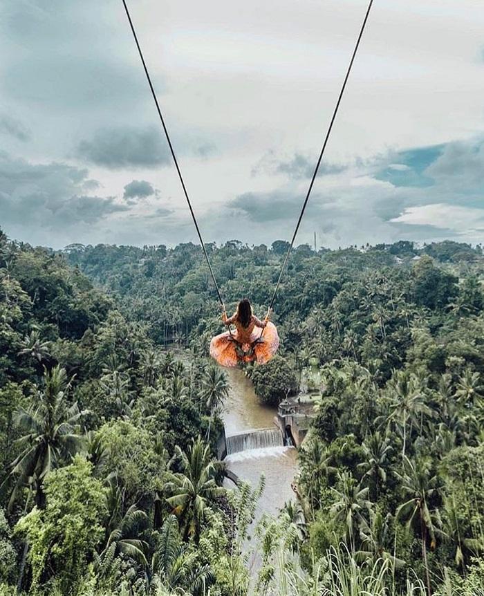 Xích đu ở Bali là một trong những nơi đẹp nhất để chụp ảnh ở Bali