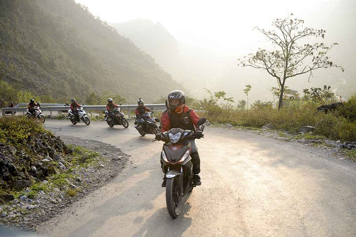 Travel experience in Ha Giang by motorbike