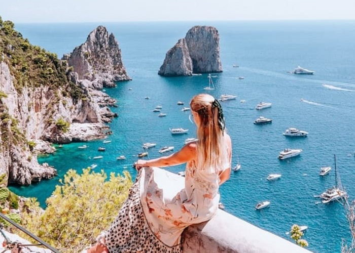Chiêm ngưỡng vẻ đẹp thần thoại của hòn đảo Capri Ý