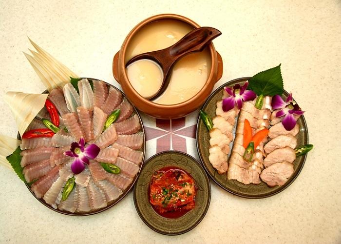 Kinh dị với món cá đuối lên men Hàn Quốc