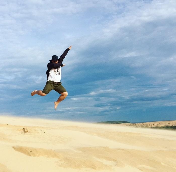 địa điểm du lịch Phan Thiết - đồi cát trắng
