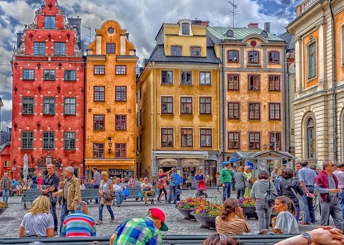 Khám phá khu phố cổ Gamla Stan giữa thủ đô Stockholm
