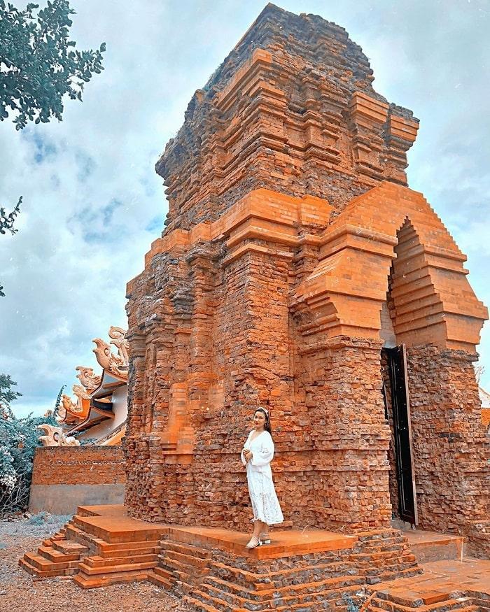 địa điểm du lịch Phan Thiết - tháp chàm poshanư