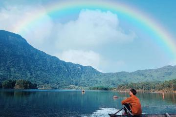 Đến Hòn Kẽm Đá Dừng chiêm ngưỡng bức tranh sơn thủy hữu tình xứ Quảng