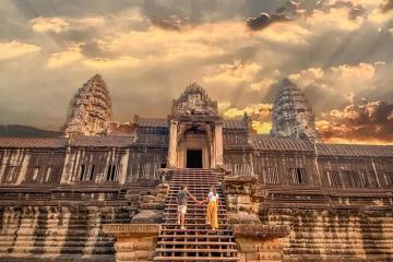 Khám phá những ngôi đền cổ kính ở thành phố Siem Reap