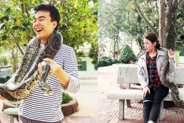 Khám phá vương quốc của loài rắn ở trại rắn Đồng Tâm