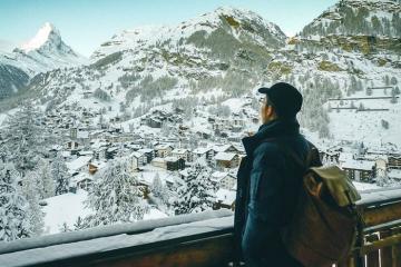 Đi tìm giấc mơ tuyết trắng ở thị trấn Zermatt Thụy Sĩ