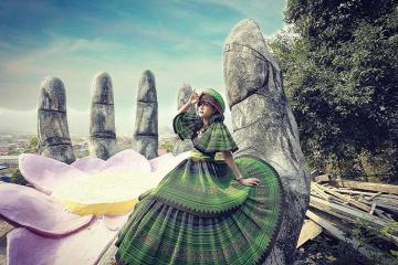 Xuất hiện bàn tay hoa sen Mộc Châu đẹp tuyệt trần