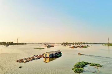 Thanh bình và xinh đẹp làng bè cá La Ngà Đồng Nai