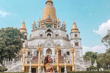 Ghé Chùa Bửu Long - ngôi chùa phong cách Thái Lan lộng lẫy tại Sài Gòn