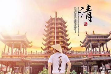 Vãn cảnh tại ngôi chùa có bảo tháp cao nhất ở miền Tây