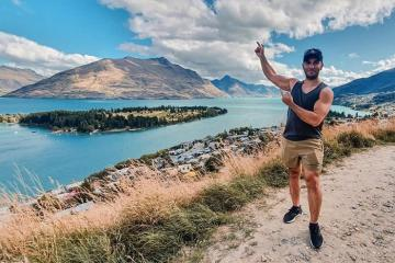 Chiêm ngưỡng vẻ đẹp của hồ Wakatipu New Zealand kỳ vĩ