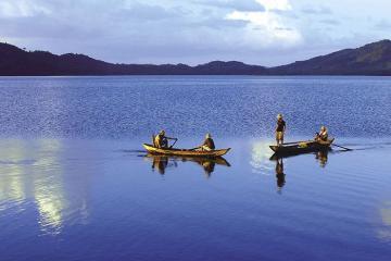 24 giờ đồng hồ tại khu du lịch hồ Đa Tôn