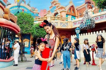 Không cần tới Mỹ, bạn vẫn có thể thỏa sức vui chơi tại công viên Disneyland Tokyo!