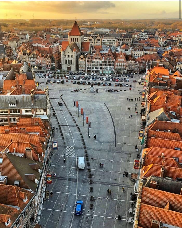 Travel experience Tournai - one of the oldest cities in Belgium
